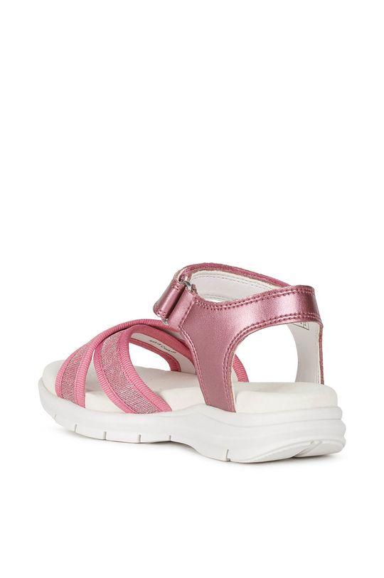 fuchsiová Geox - Dětské sandály