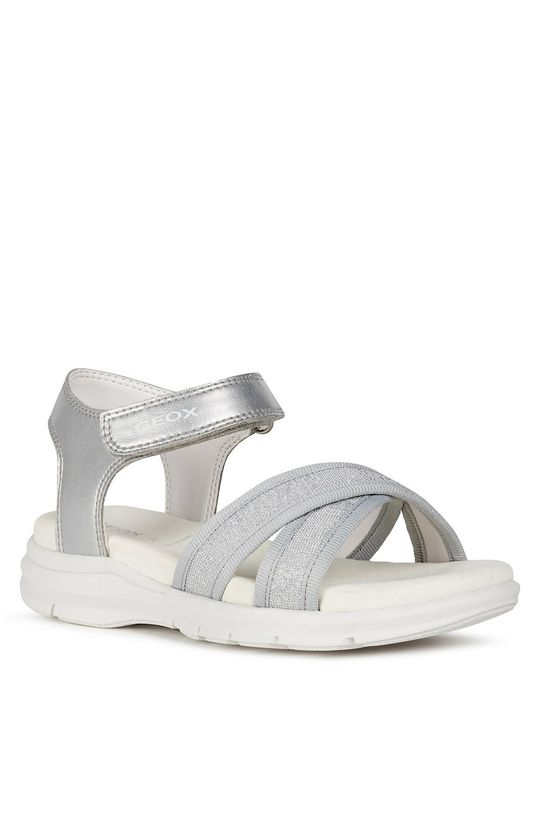Geox - Detské sandále strieborná