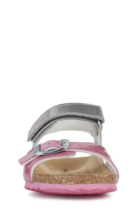 Geox - Dětské sandály  Svršek: Umělá hmota Podrážka: Umělá hmota Vložka: Kůže
