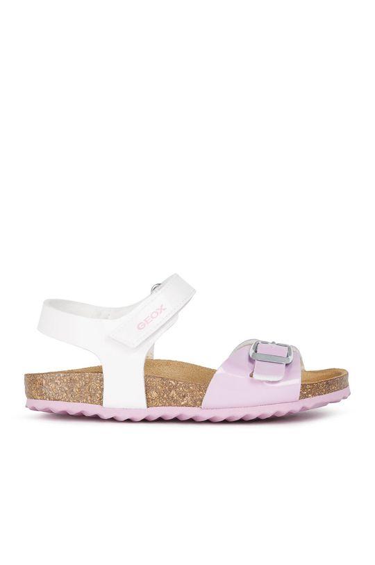 biela Geox - Detské sandále Dievčenský
