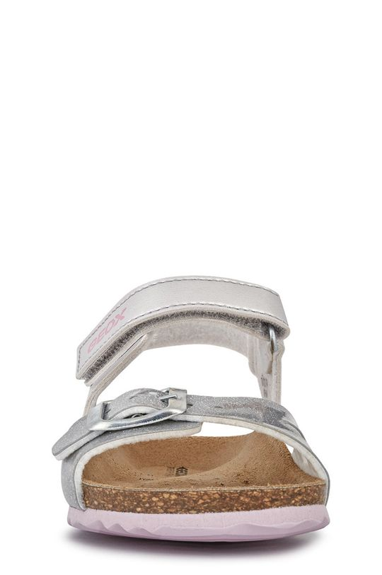Geox - Sandały dziecięce Cholewka: Materiał syntetyczny, Wnętrze: Materiał syntetyczny, Skóra naturalna, Podeszwa: Materiał syntetyczny