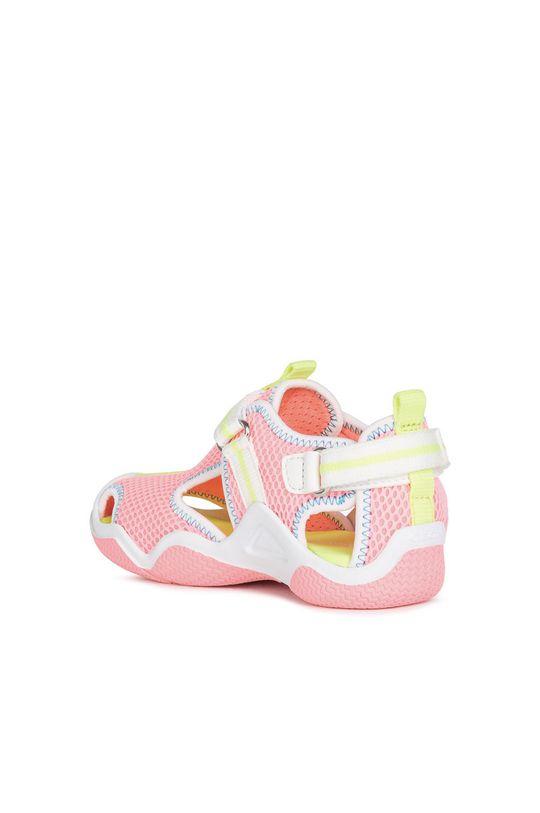 różowy Geox - Sandały dziecięce