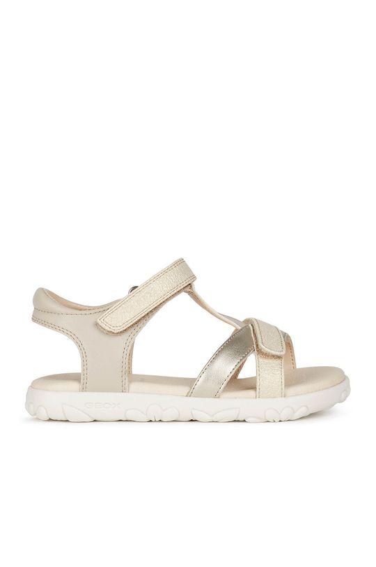 zlatá Geox - Detské sandále Dievčenský