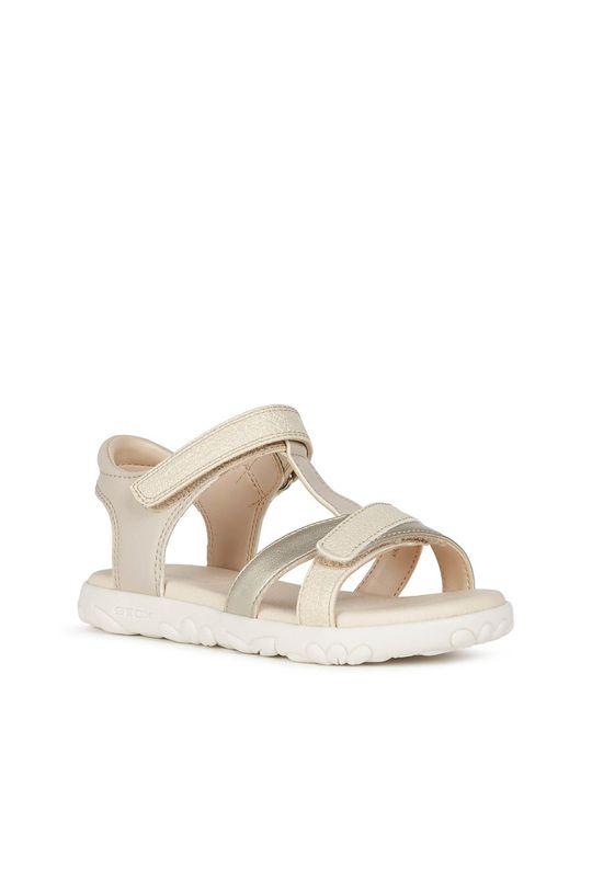 Geox - Detské sandále zlatá