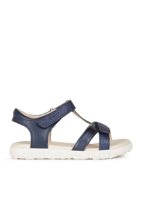 námořnická modř Geox - Dětské sandály Dívčí