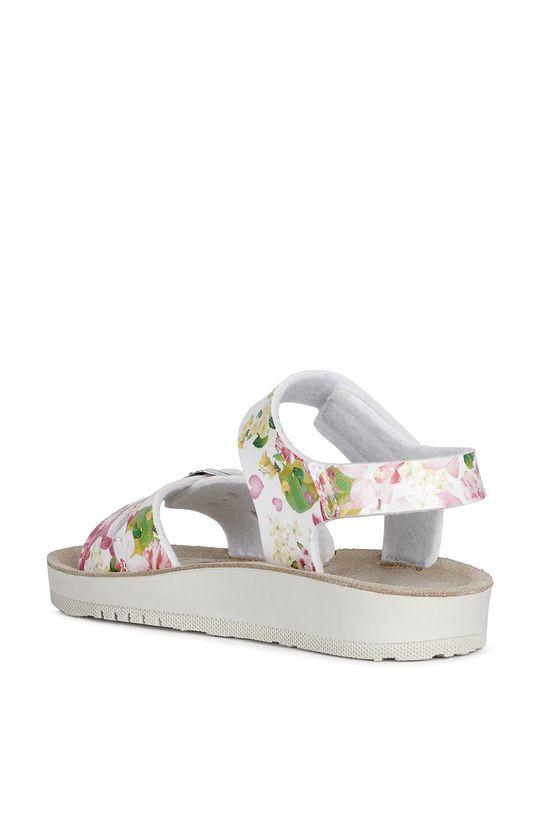 bílá Geox - Dětské sandály