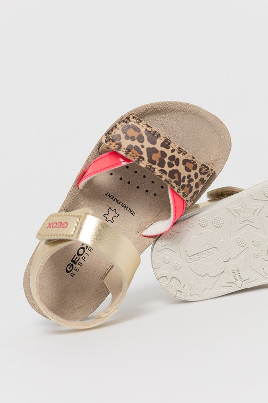 zlatá Geox - Dětské sandály