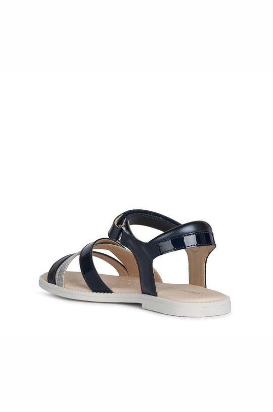 námořnická modř Geox - Dětské kožené sandály