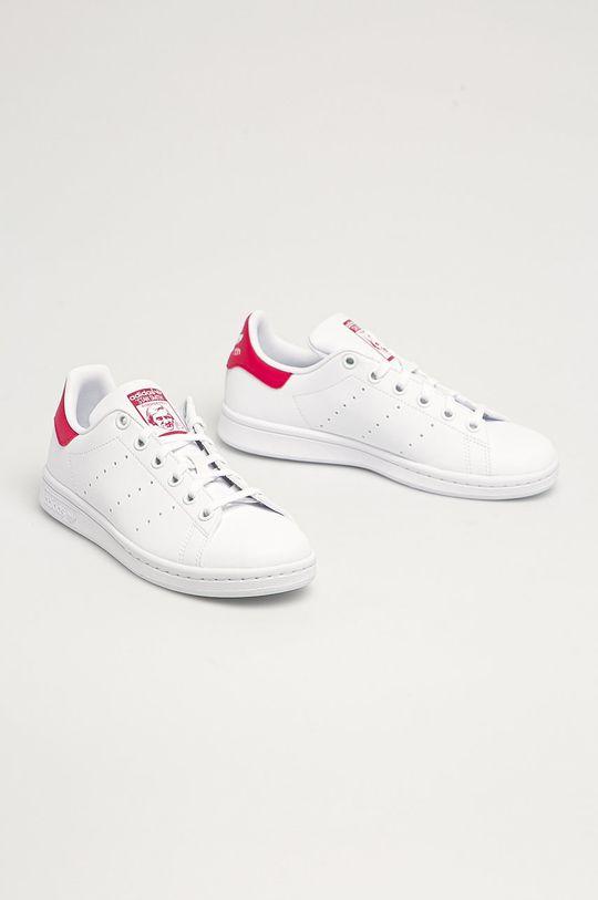 adidas Originals - Dětské boty Stan Smith bílá