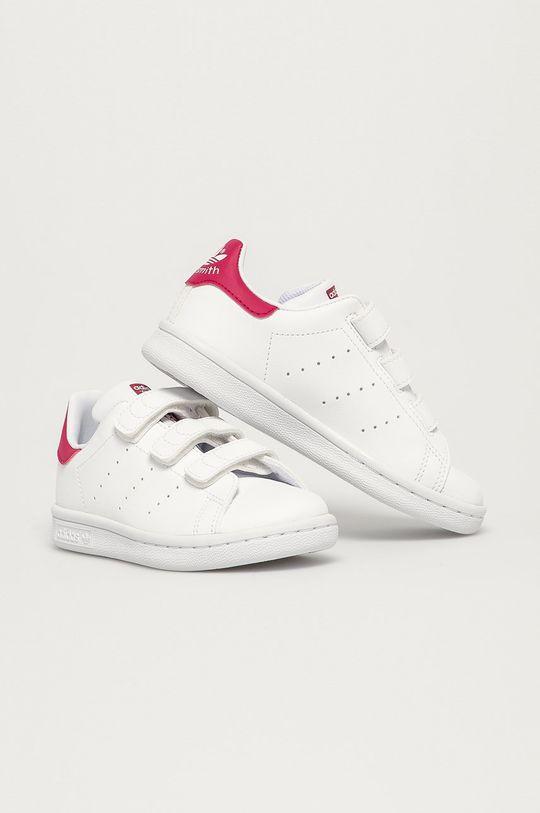 adidas Originals - Dětské boty Stan Smith CF C bílá