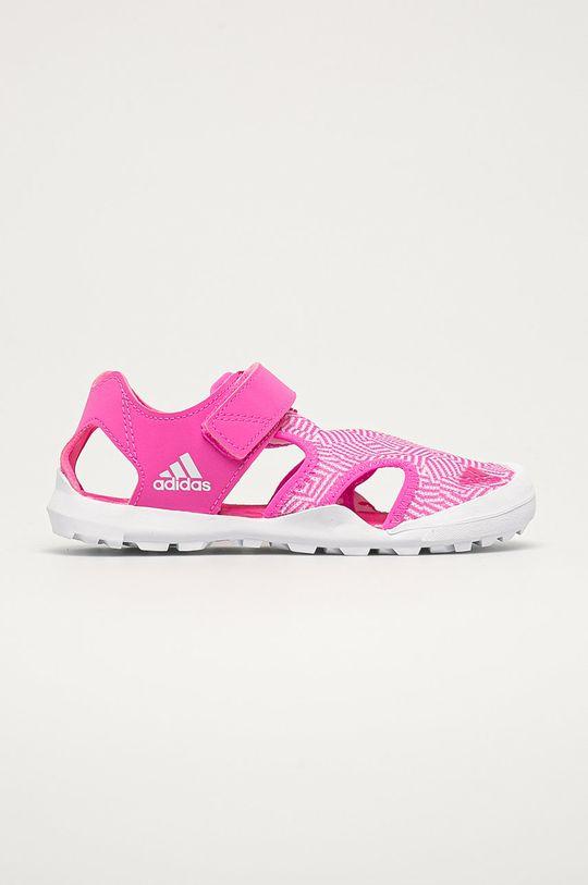 růžová adidas Performance - Dětské sandály Terrex Captain Toey Dívčí