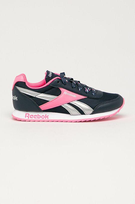námořnická modř Reebok Classic - Dětské boty Royal Dívčí