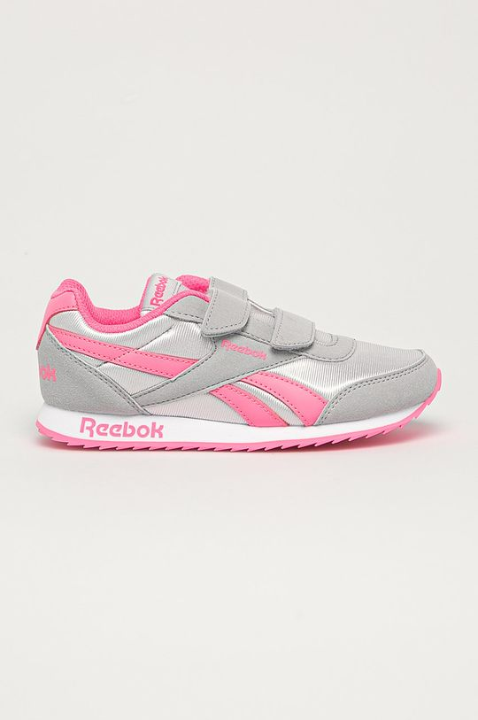 szary Reebok Classic - Buty dziecięce Royal Classic Jogger 2 Dziewczęcy