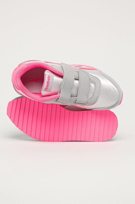 šedá Reebok Classic - Dětské boty Royal Classic Jogger 2