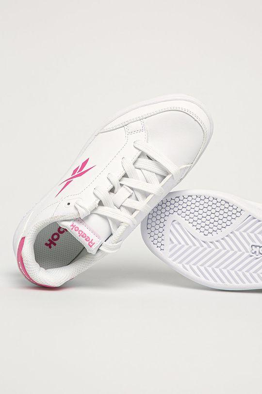 bílá Reebok Classic - Dětské boty Royal Vector Smash