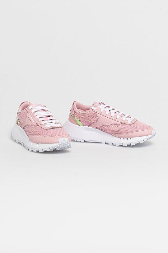 Reebok Classic - Dětské boty CL LEGACY růžová