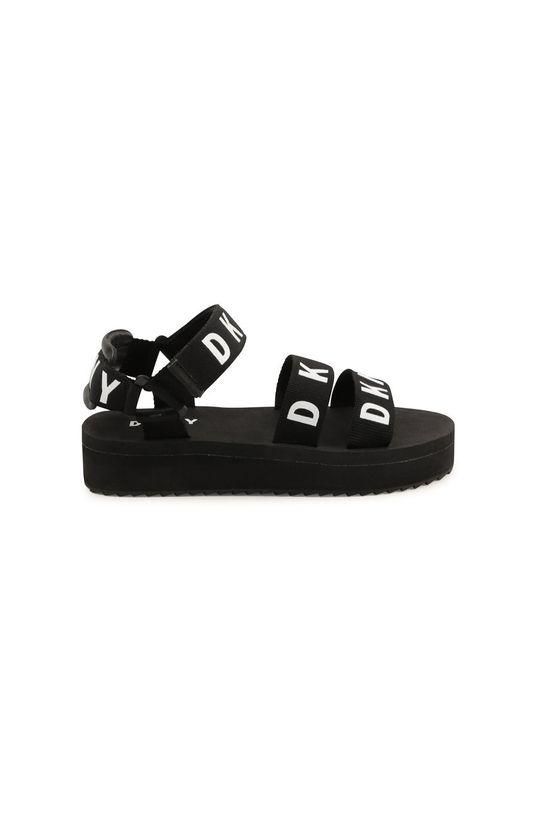 Dkny - Dětské sandály černá