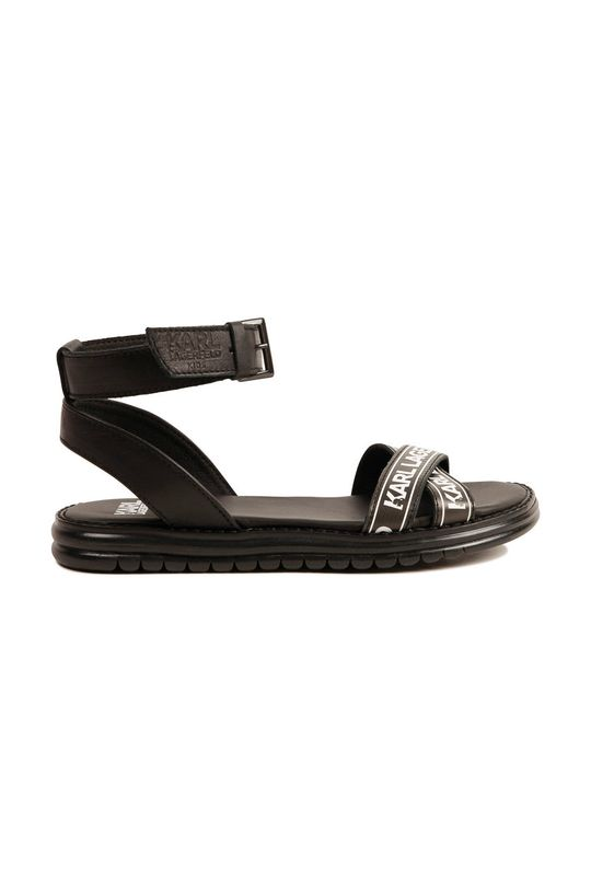 Karl Lagerfeld - Sandały dziecięce czarny