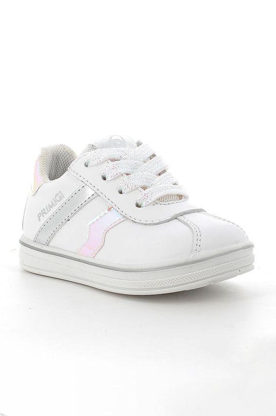 Primigi - Buty zamszowe dziecięce biały