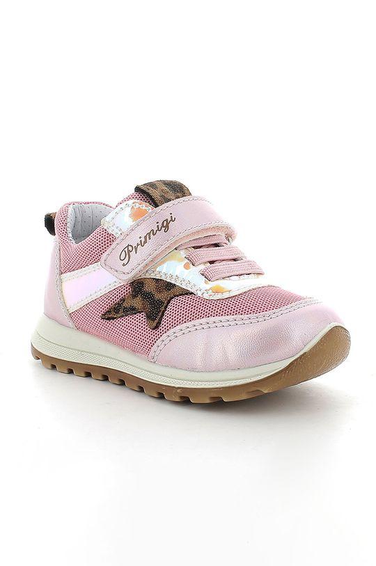 Primigi - Dětské boty pastelově růžová