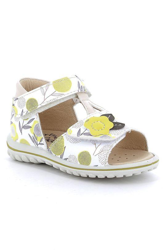 Primigi - Dětské sandály jasně žlutá