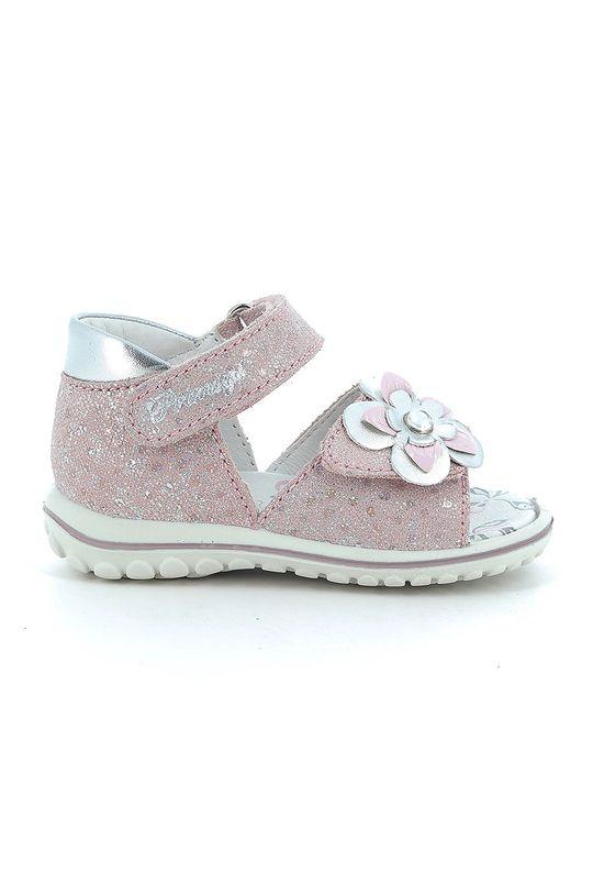 pastelowy różowy Primigi - Sandały dziecięce Dziewczęcy