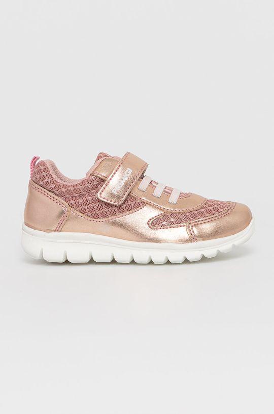 starorůžová Primigi - Dětské boty Dívčí