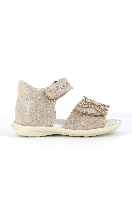 zlatá Primigi - Dětské sandály Dívčí