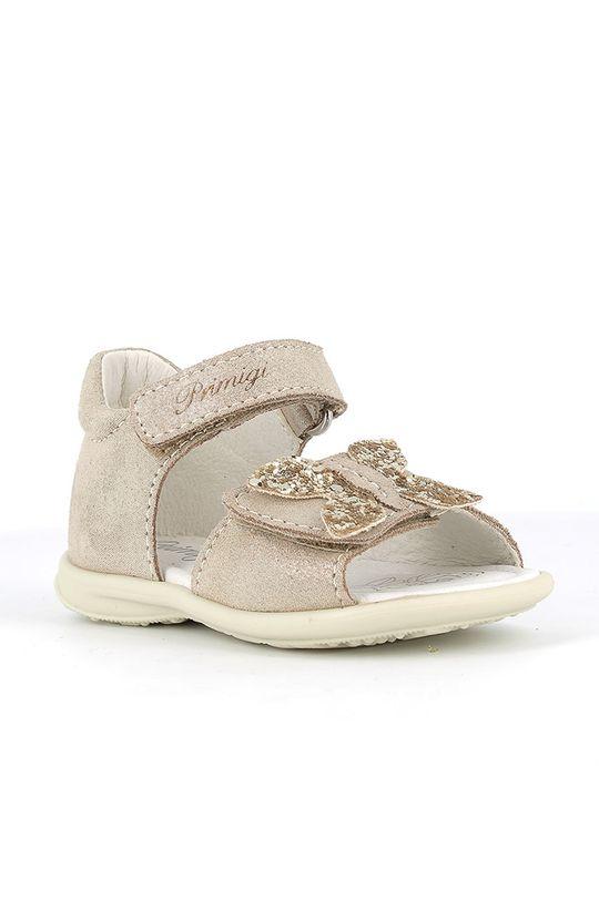 Primigi - Dětské sandály zlatá