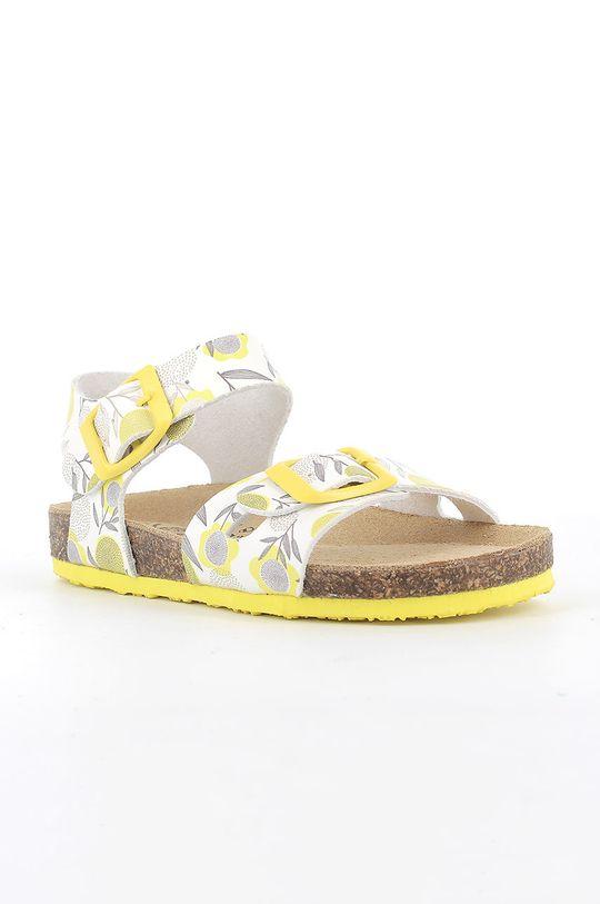 Primigi - Dětské sandály žlutá