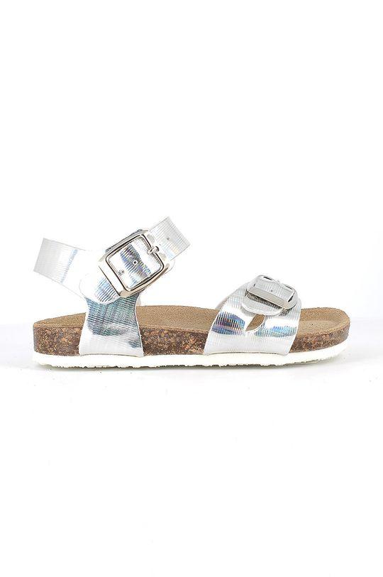srebrny Primigi - Sandały dziecięce Dziewczęcy