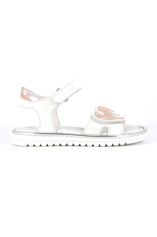 biały Primigi - Sandały dziecięce Dziewczęcy