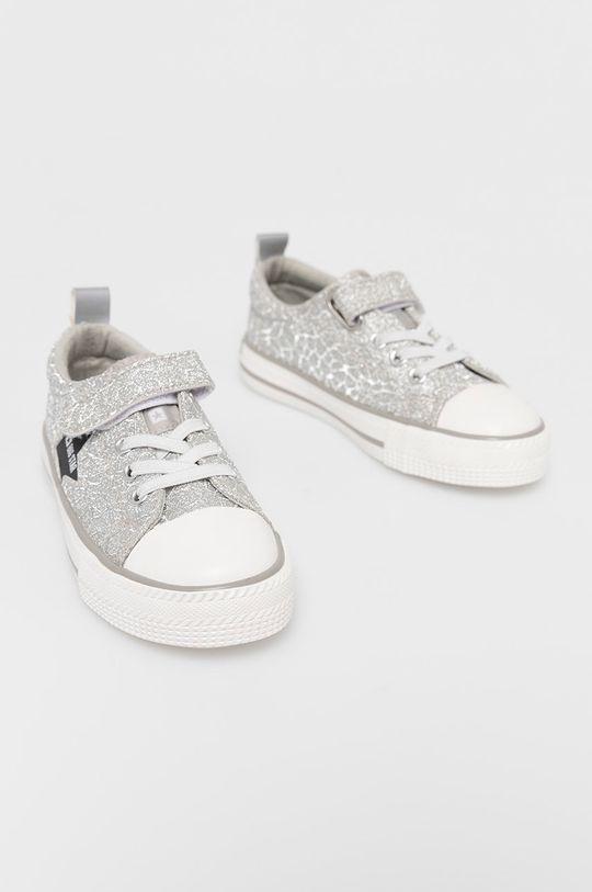 Big Star - Tenisówki dziecięce srebrny