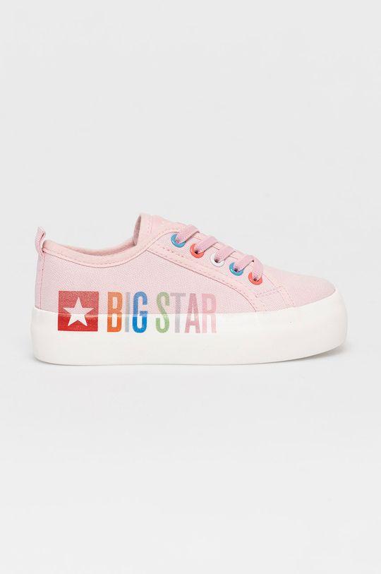różowy Big Star - Tenisówki dziecięce Dziewczęcy