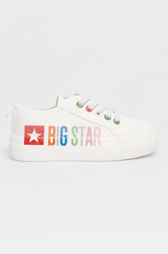biały Big Star - Tenisówki dziecięce Dziewczęcy