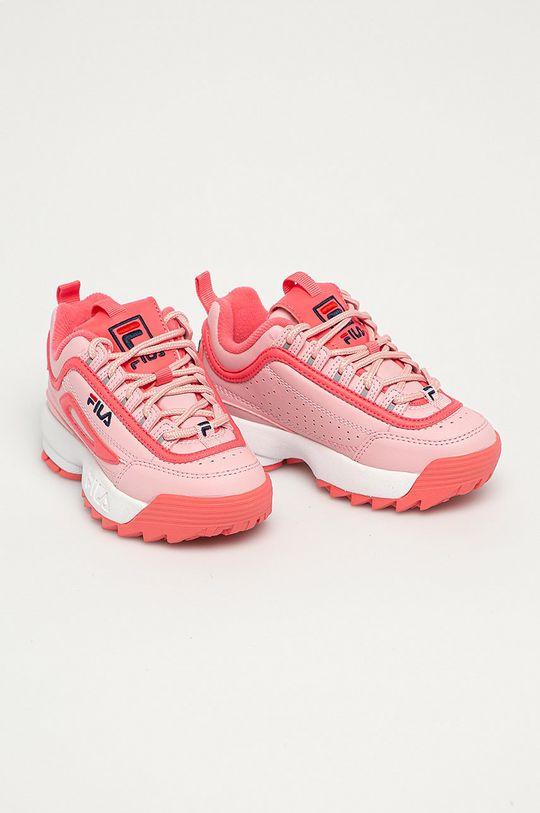 Fila - Buty dziecięce Disruptor różowy