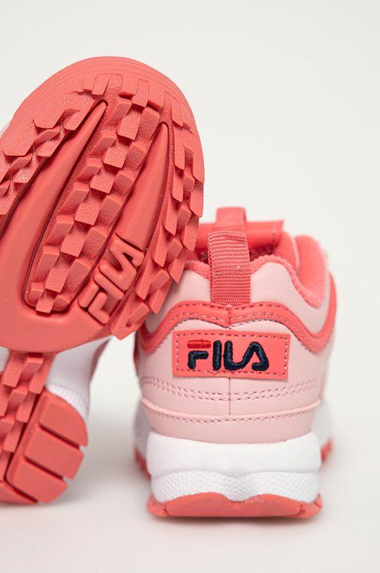 Fila - Detské topánky  Zvršok: Syntetická látka Vnútro: Textil Podrážka: Syntetická látka