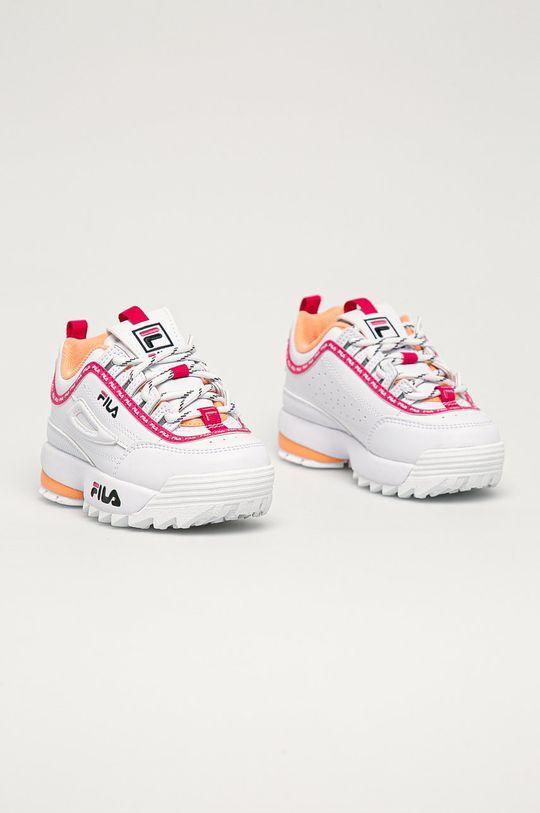Fila - Buty dziecięce Disruptor biały