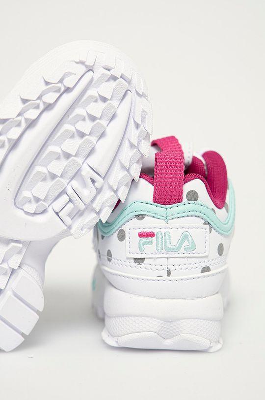 Fila - Dětské boty  Svršek: Umělá hmota Vnitřek: Textilní materiál Podrážka: Umělá hmota