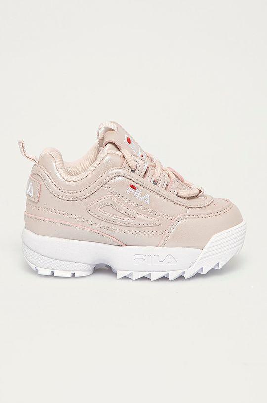 růžová Fila - Dětské boty Dívčí