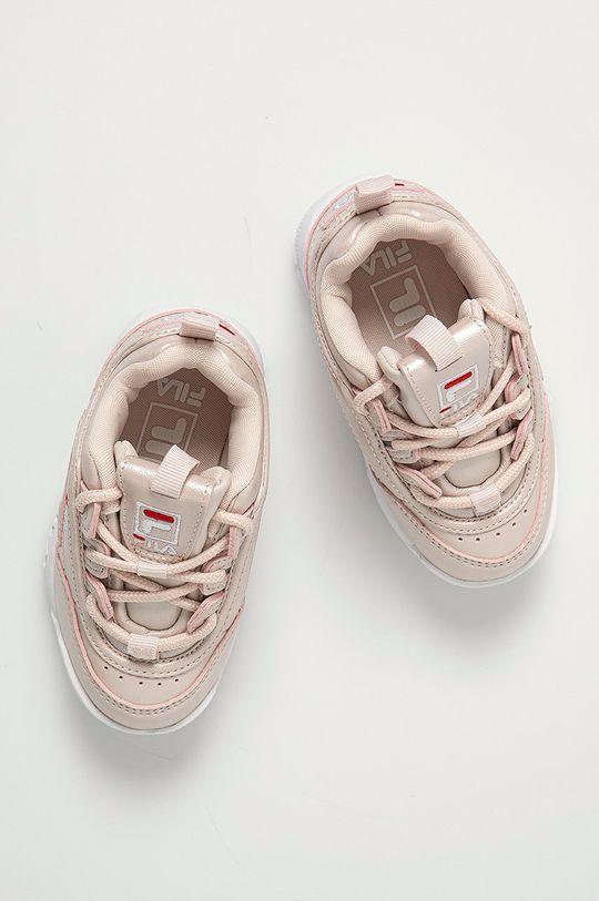 růžová Fila - Dětské boty