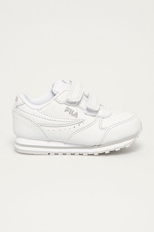 bílá Fila - Dětské boty Dívčí