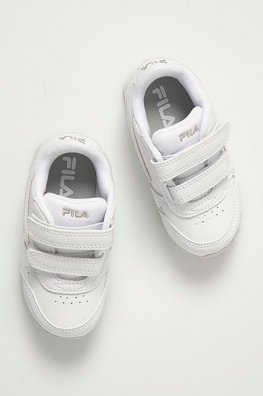 bílá Fila - Dětské boty