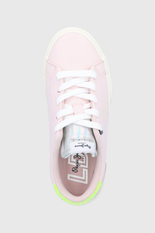 ružovofialová Pepe Jeans - Detské topánky Keton