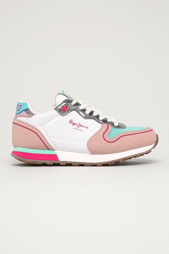 viacfarebná Pepe Jeans - Detské topánky Klein New Girl Dievčenský