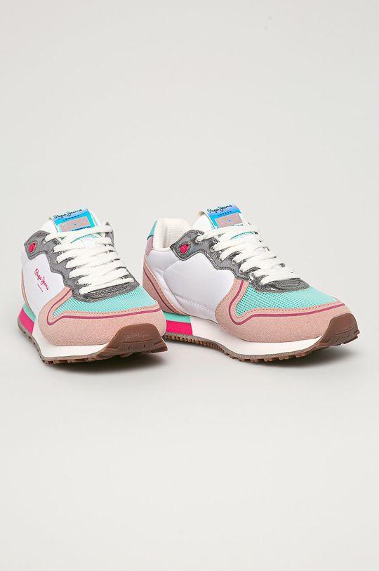 Pepe Jeans - Detské topánky Klein New Girl viacfarebná