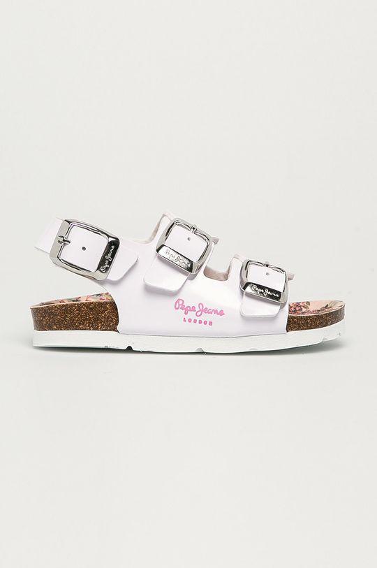 bílá Pepe Jeans - Dětské sandály Bio Basic Buckles Dívčí
