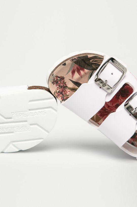 bílá Pepe Jeans - Dětské sandály Bio Basic Buckles