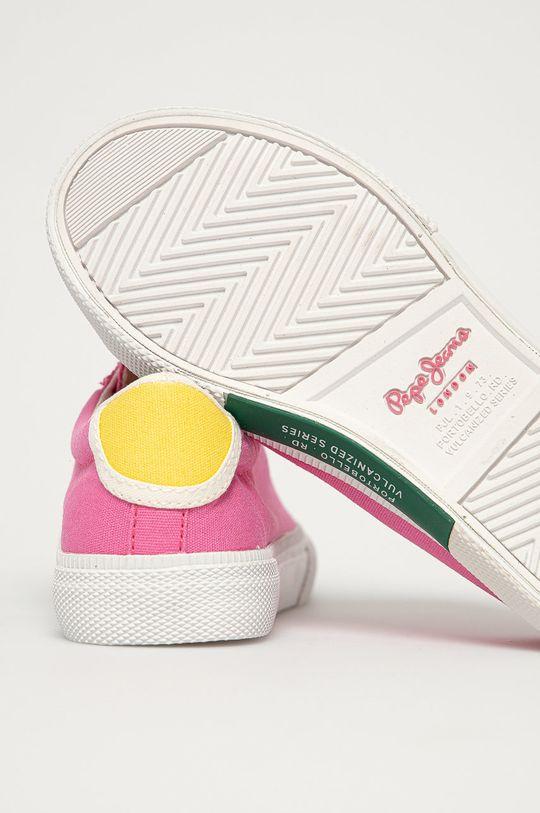 Pepe Jeans - Dětské boty KENTON  Svršek: Textilní materiál Vnitřek: Textilní materiál Podrážka: Umělá hmota