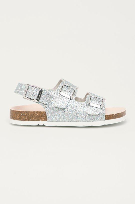 stříbrná Pepe Jeans - Dětské sandály Bio Basic Dívčí